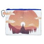 Design Art Hill Hut Landscape Canvas Cosmetic Bag (XL)