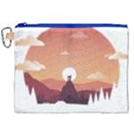 Design Art Hill Hut Landscape Canvas Cosmetic Bag (XXL)