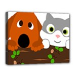 Baby Decoration Cat Dog Stuff Canvas 14  x 11