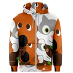 Baby Decoration Cat Dog Stuff Men s Zipper Hoodie