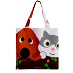 Baby Decoration Cat Dog Stuff Zipper Grocery Tote Bag