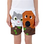 Baby Decoration Cat Dog Stuff Women s Basketball Shorts