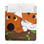 Baby Decoration Cat Dog Stuff Duvet Cover Double Side (Full/ Double Size)