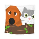 Baby Decoration Cat Dog Stuff Square Tapestry (Small)