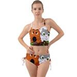 Baby Decoration Cat Dog Stuff Mini Tank Bikini Set