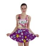 Floral Flowers Mini Skirt