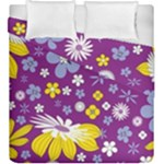 Floral Flowers Duvet Cover Double Side (King Size)