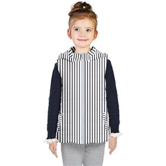 Basic Vertical Stripes Kid s Puffer Vest