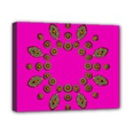 Sweet Hearts In  Decorative Metal Tinsel Canvas 10  x 8