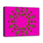 Sweet Hearts In  Decorative Metal Tinsel Deluxe Canvas 20  x 16