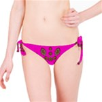 Sweet Hearts In  Decorative Metal Tinsel Bikini Bottom