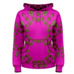 Sweet Hearts In  Decorative Metal Tinsel Women s Pullover Hoodie
