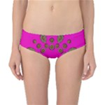 Sweet Hearts In  Decorative Metal Tinsel Classic Bikini Bottoms