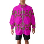 Sweet Hearts In  Decorative Metal Tinsel Wind Breaker (Kids)