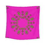 Sweet Hearts In  Decorative Metal Tinsel Square Tapestry (Small)