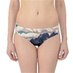 Italy Valley Canyon Mountains Sky Hipster Bikini Bottoms