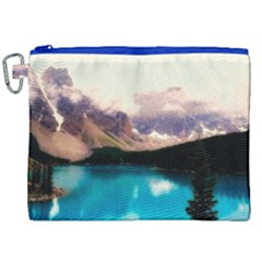 Austria Mountains Lake Water Canvas Cosmetic Bag (xxl) by BangZart