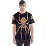 Insect Macro Spider Colombia Men s Sports Mesh Tee