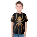 Insect Macro Spider Colombia Kids  Cotton Tee