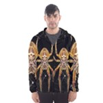 Insect Macro Spider Colombia Hooded Wind Breaker (Men)