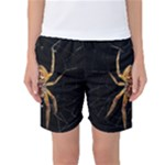Insect Macro Spider Colombia Women s Basketball Shorts