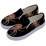 Insect Macro Spider Colombia Kids  Canvas Slip Ons