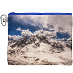 Italy Landscape Mountains Winter Canvas Cosmetic Bag (xxxl) by BangZart