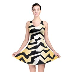 Polynoise Tiger Reversible Skater Dress
