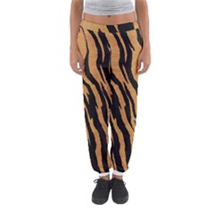 Animal Tiger Seamless Pattern Texture Background Women s Jogger Sweatpants