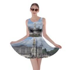 Buckingham Palace Statue Skater Dress by all7sins