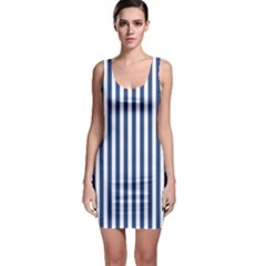 Blue Stripes Bodycon Dress by jumpercat