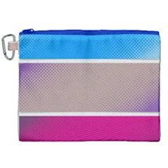 Pattern Template Banner Background Canvas Cosmetic Bag (xxl) by BangZart