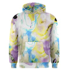 Watercolour Watercolor Paint Ink Men s Pullover Hoodie