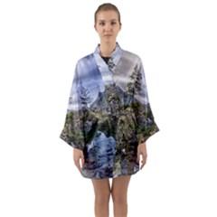 Hintersee Ramsau Berchtesgaden Long Sleeve Kimono Robe
