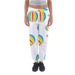 Balloon Ball District Colorful Women s Jogger Sweatpants