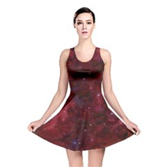 Abstract Fantasy Color Colorful Reversible Skater Dress