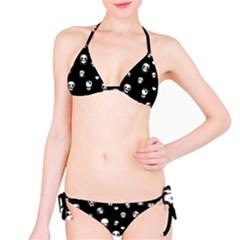 Panda Pattern Bikini Set