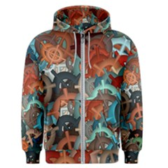 Fun,fantasy And Joy 2 Men s Zipper Hoodie by MoreColorsinLife