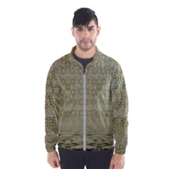 Shooting Stars Over The Sea Of Calm Wind Breaker (men) by pepitasart
