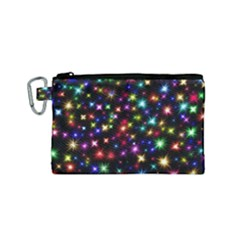 Fireworks Rocket New Year S Day Canvas Cosmetic Bag (small) by Celenk