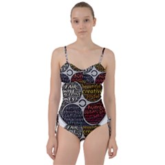 Person Character Characteristics Sweetheart Tankini Set