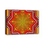 Mandala Zen Meditation Spiritual Mini Canvas 7  x 5