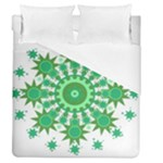 Mandala Geometric Pattern Shapes Duvet Cover (Queen Size)