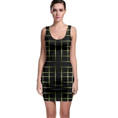 Background Texture Pattern Bodycon Dress