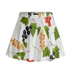 Juicy Currants Mini Flare Skirt by TKKdesignsCo