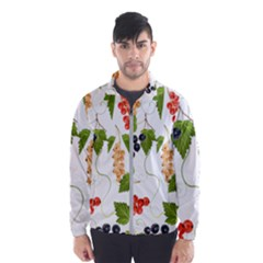 Juicy Currants Wind Breaker (men) by TKKdesignsCo