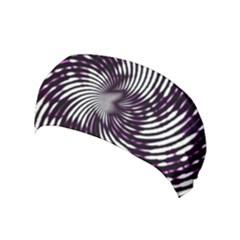 Background Texture Pattern Yoga Headband by Celenk