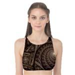 Abstract Pattern Graphics Tank Bikini Top