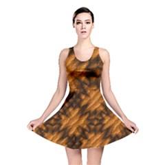 Background Texture Pattern Reversible Skater Dress