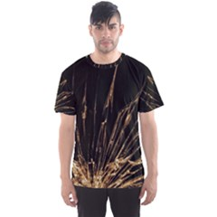Background Abstract Structure Men s Sports Mesh Tee
